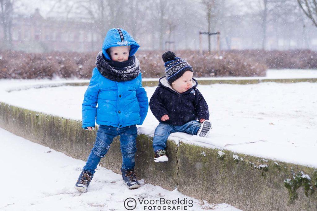 foto kinderen sneeuw