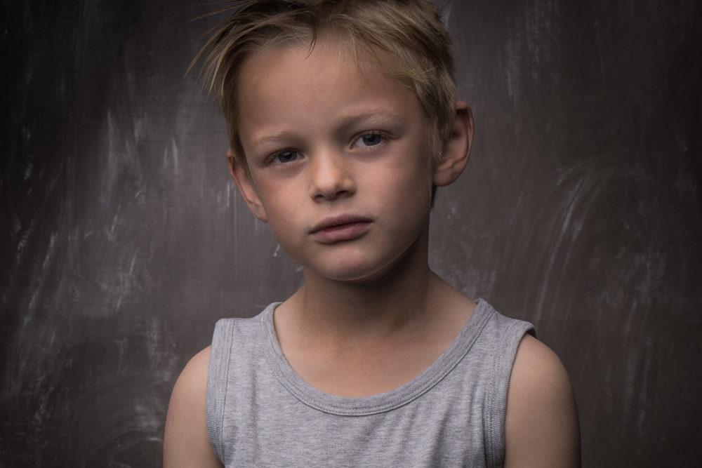 kinder portretfoto
