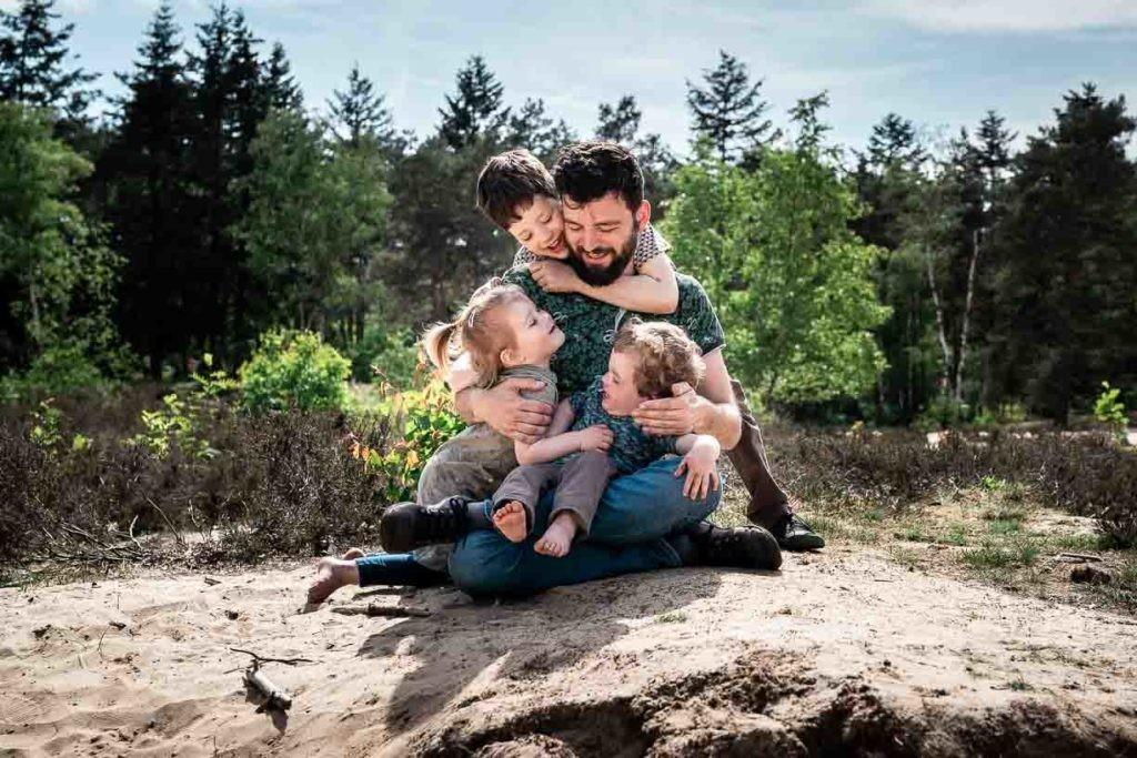 gezin fotoshoot boeken