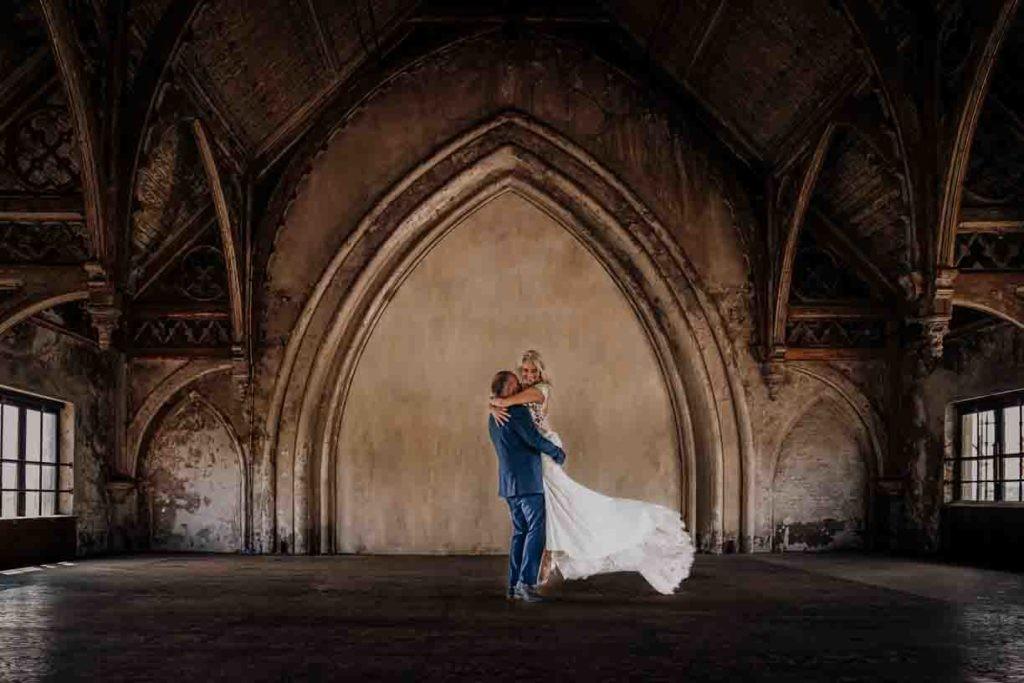 metaal kathedraal trouwfotograaf